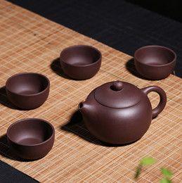 Yixing zisha tea set