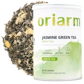 jasmine green tea loose leaf