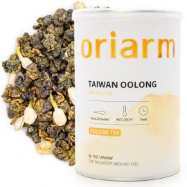 jasmine oolong tea can
