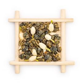 jasmine oolong tea leaves