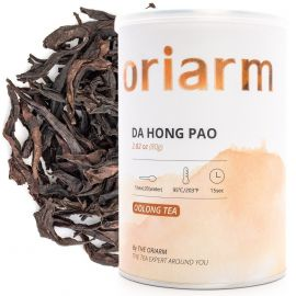 da hong pao loose oolong tea can